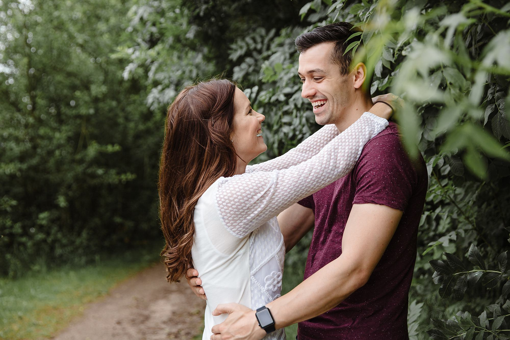 Countryside engagement photography in loughborough