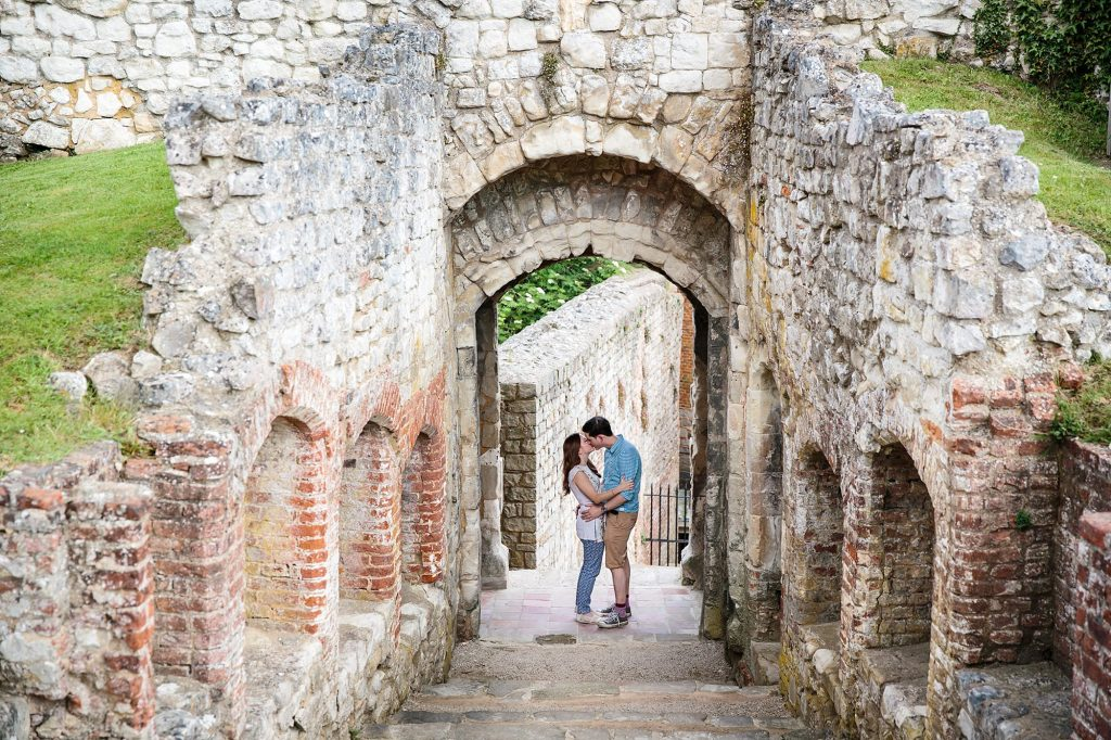 Farnham engagement photography with Rhian & James