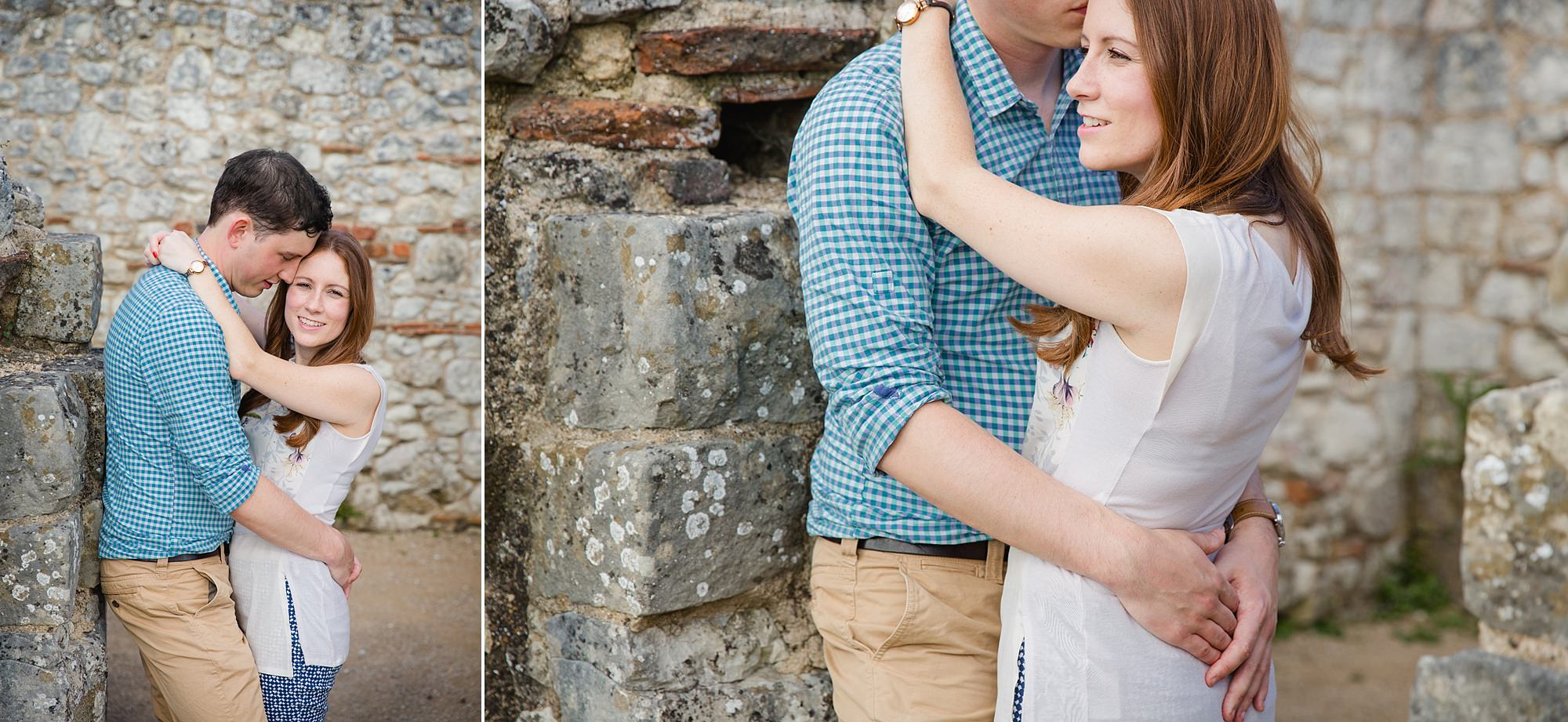 Farnham engagement photography at farnham castle
