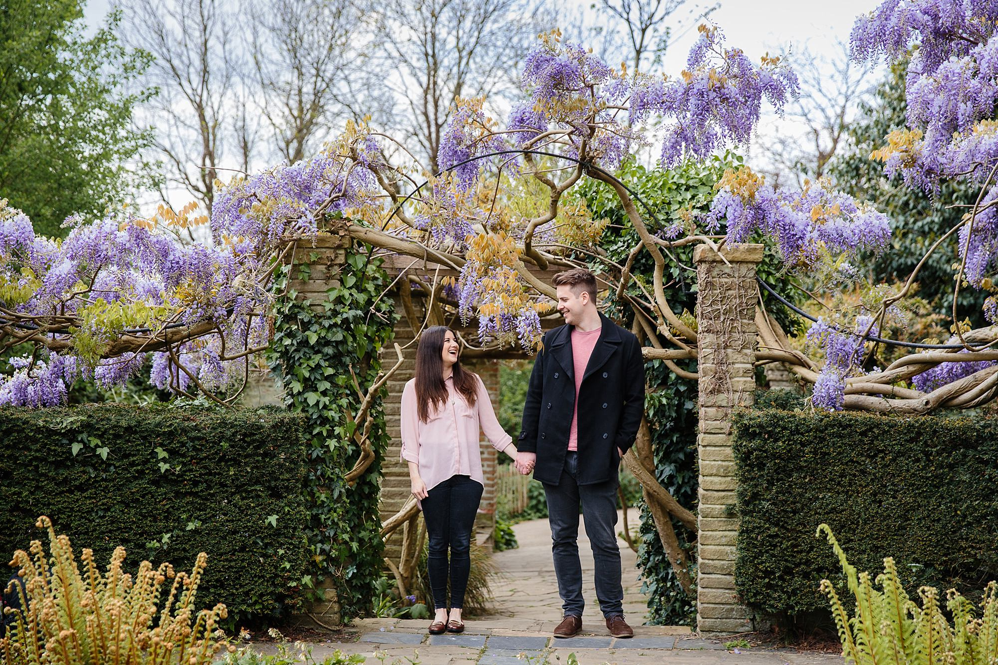 Streatham engagement shoot in the rookery