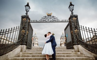 Trafalgar Tavern wedding – Lottie & Mike's funky London pub wedding