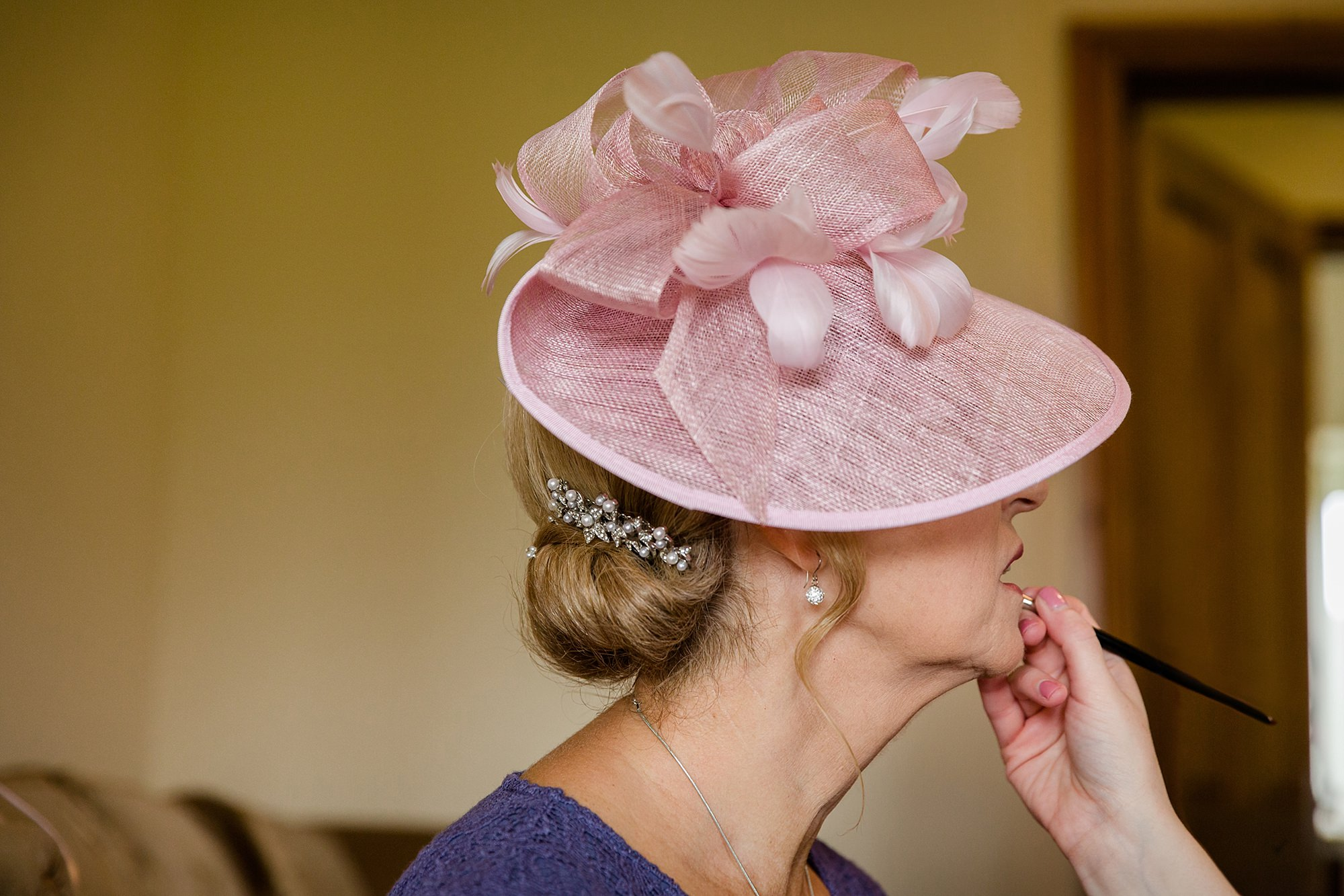 A fun wedding at Plas Isaf - Mother of bride getting ready