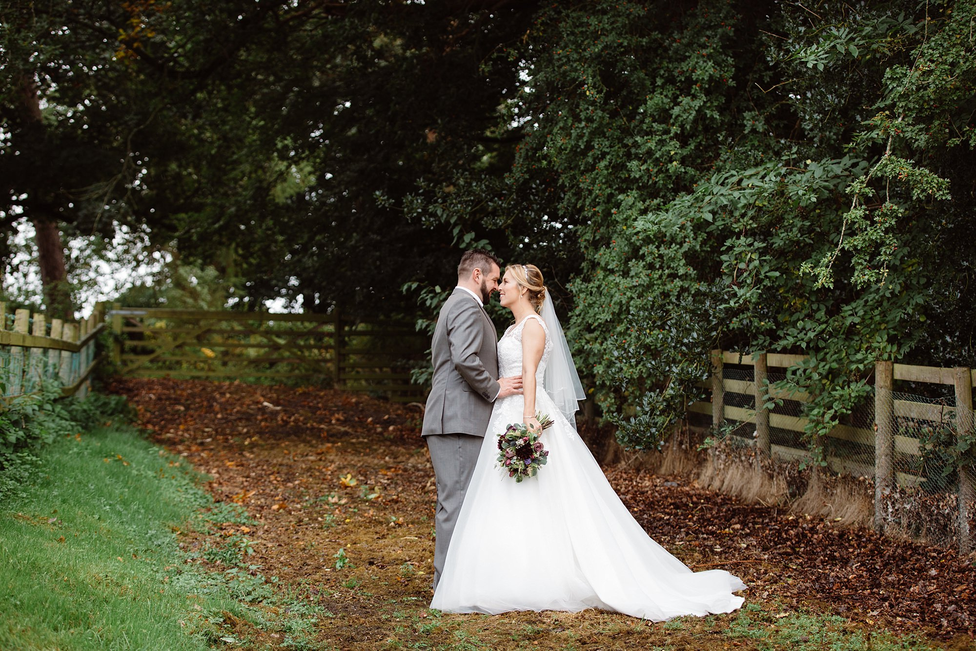 A fun wedding at Plas Isaf couple portrait