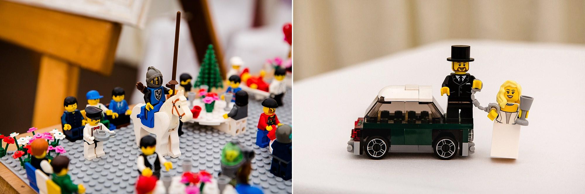 A fun wedding lego detail