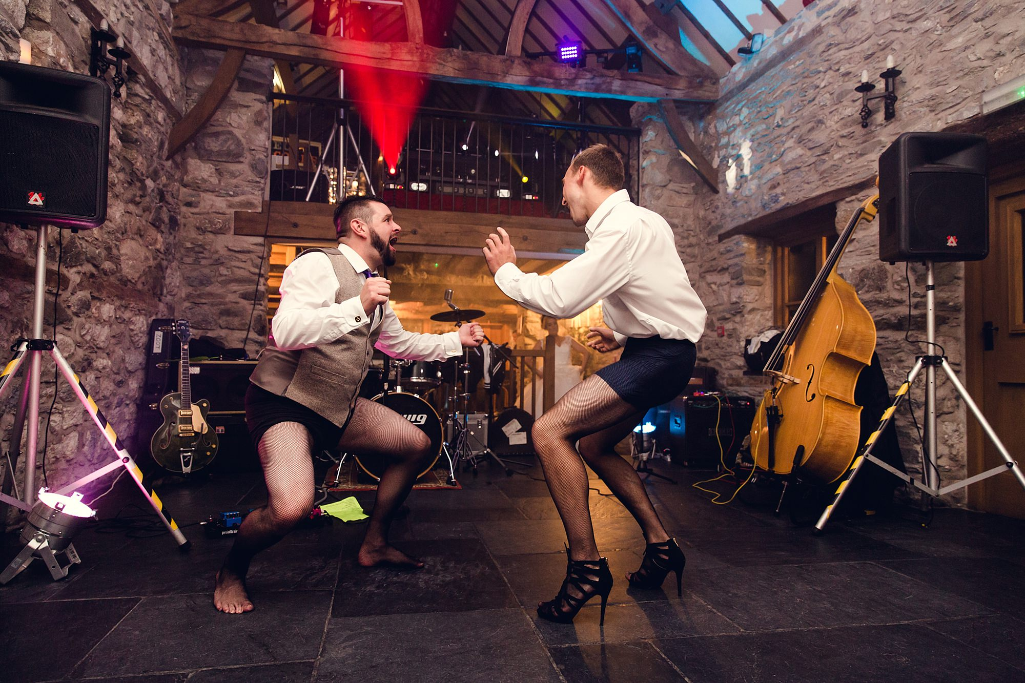 A fun wedding Timewarp dance