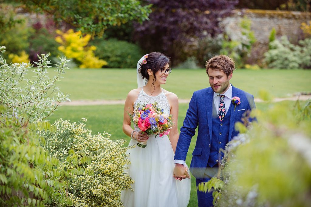 Caswell House Wedding – Chiara and Dan's fun and colourful crafty wedding