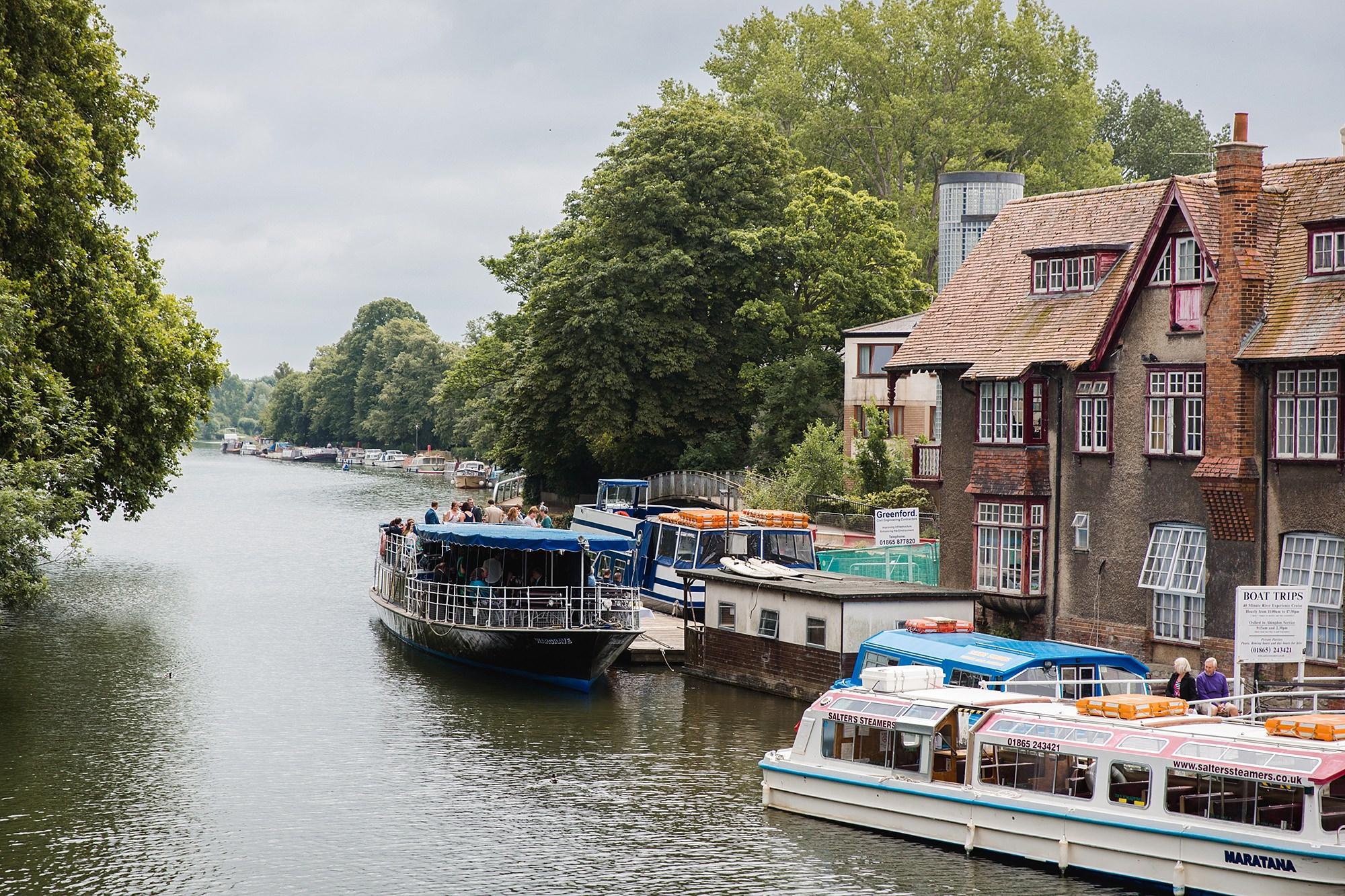 Isis Farmhouse Oxford Wedding boat yard in oxford
