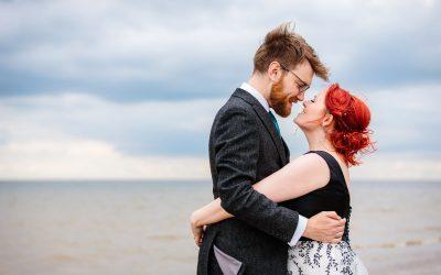 Beacon house wedding Whitstable – Ann & Matthew's fun beach wedding