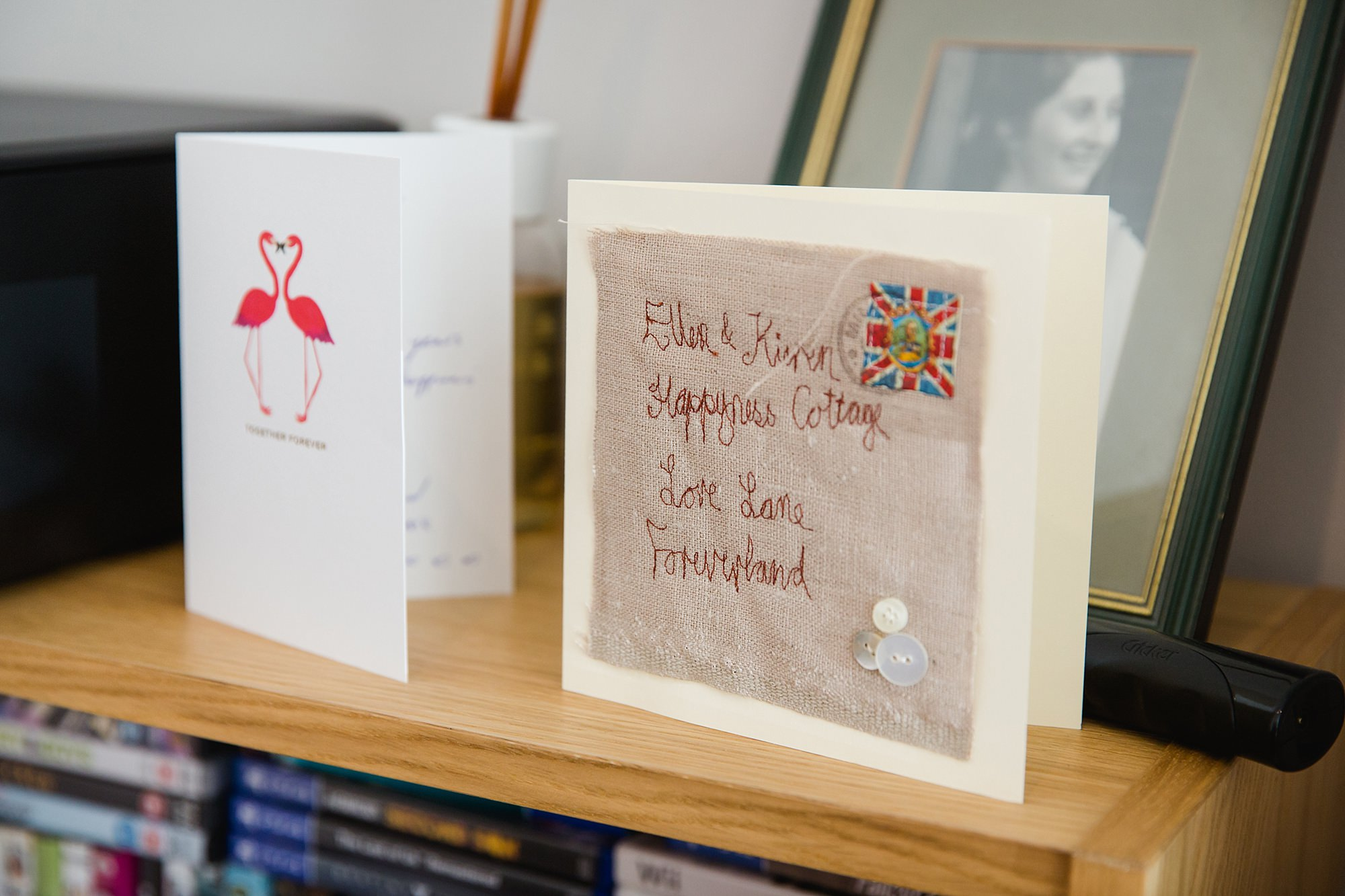 oyster shed wedding congratulations cards for bride and groom