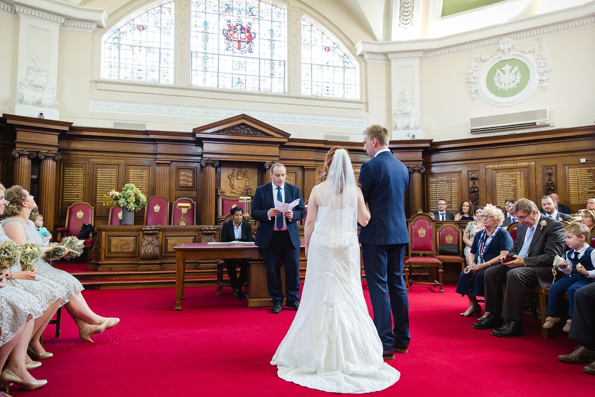 oyster shed wedding a ready at islington town hall ceremony