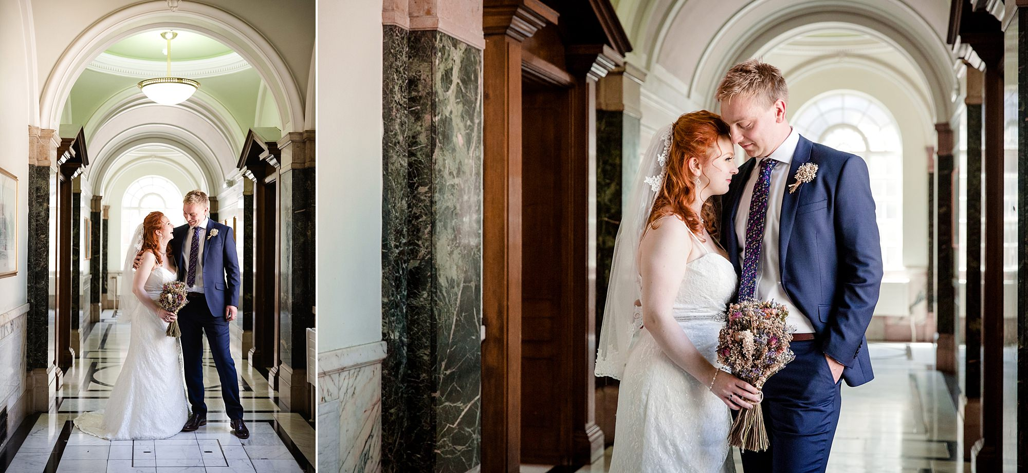 oyster shed wedding from kisses his bride at islington town hall wedding