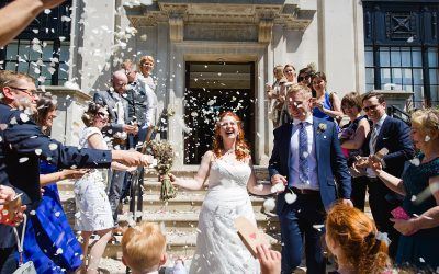 Oyster Shed Wedding with Islington Town Hall ceremony – Ellen & Kieren