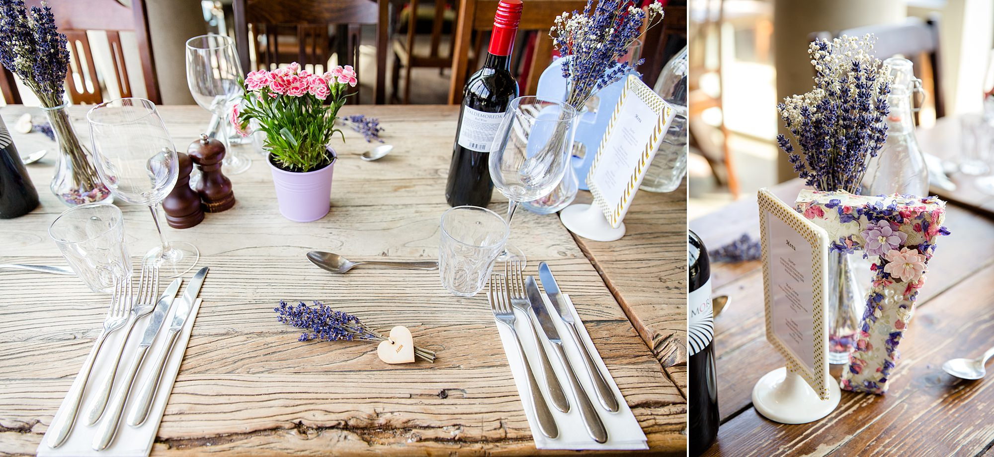 oyster shed wedding table decorations