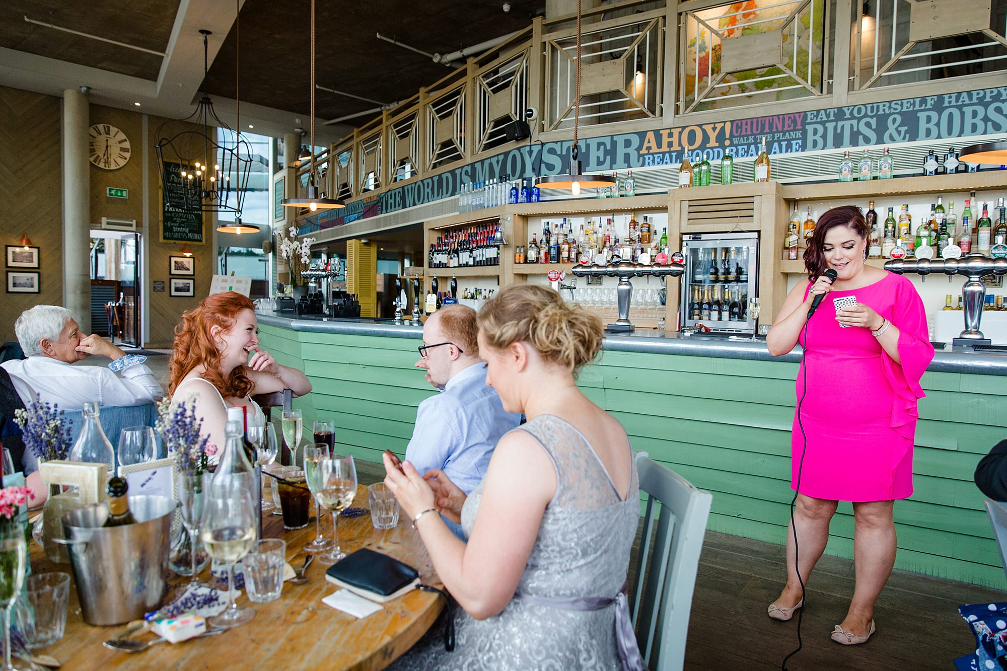 oyster shed wedding speeches