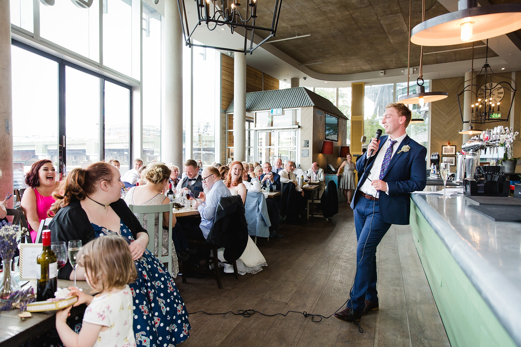 oyster shed wedding groom's speech