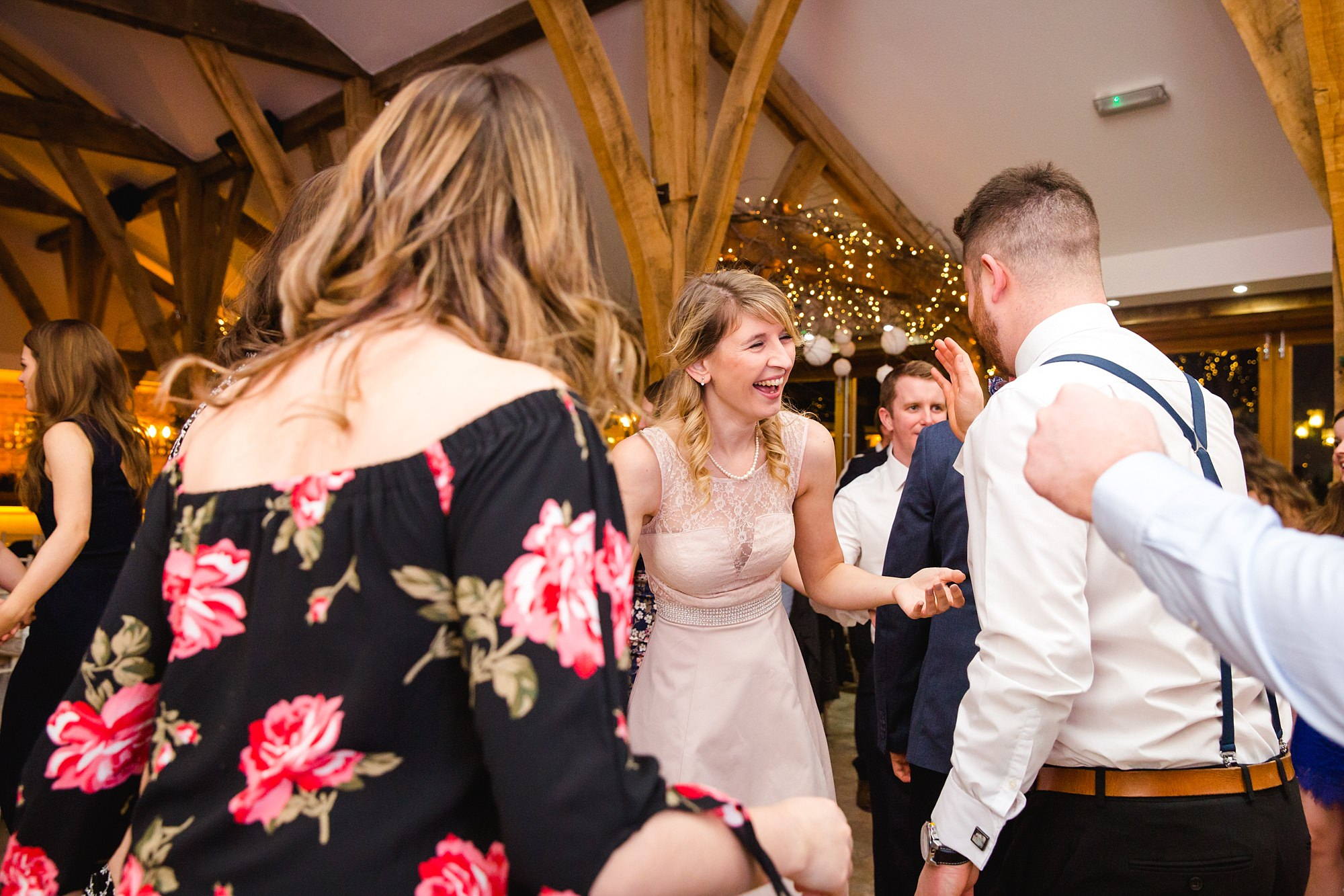 swancar farm wedding fun ceilidh dancing