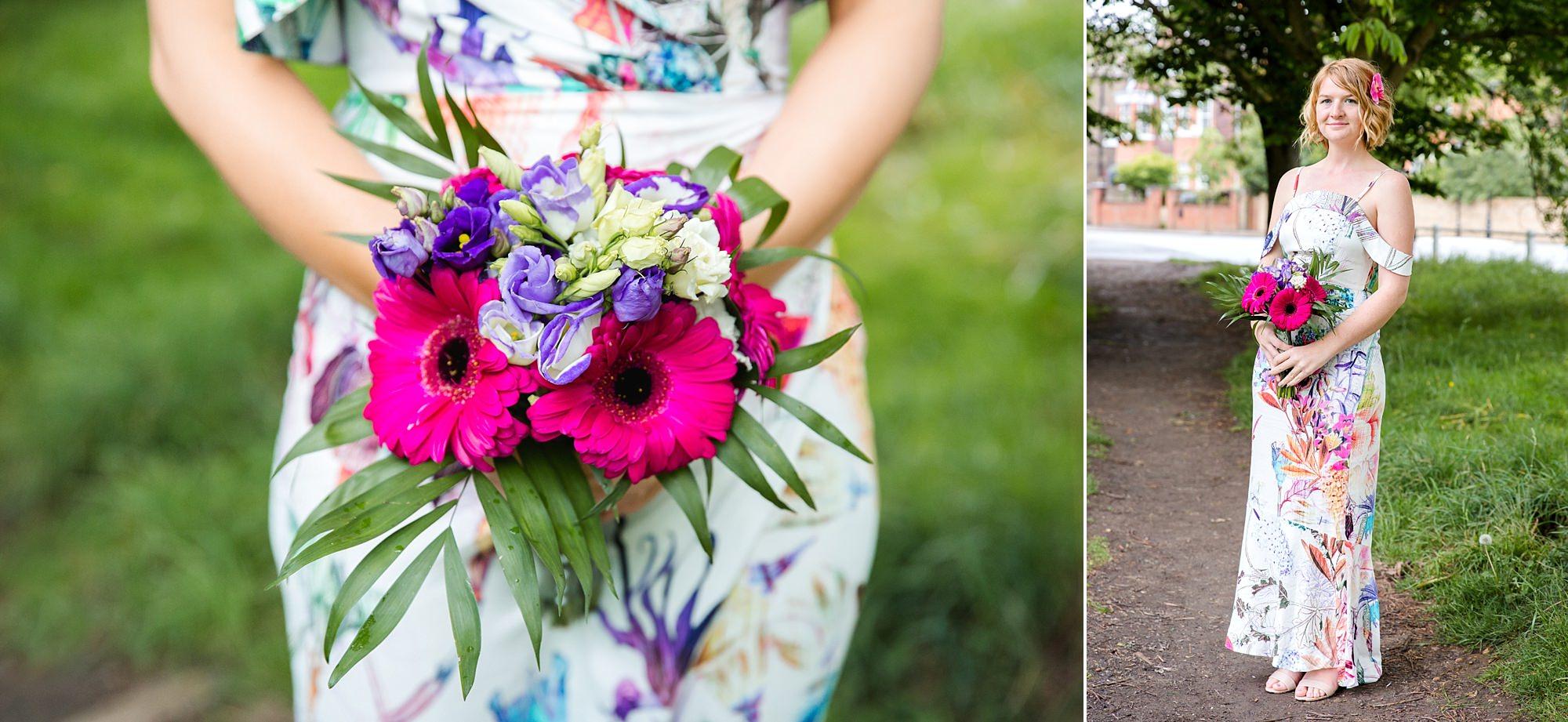 The Grange Ealing wedding tropical bridesmaids
