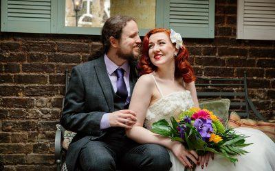 The Grange Ealing wedding – Kat & Liam's tropical pub wedding