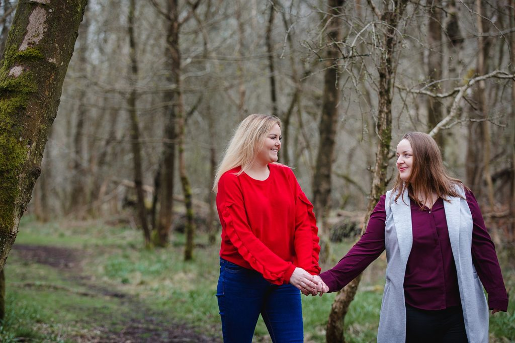Ashridge Park engagement shoot – Kirsty and Megan