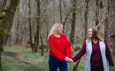 Ashridge Park engagement shoot – Kirsty and Megan