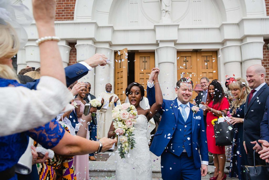 Bank of England sports centre wedding – Jackie & Gareth's fun casino wedding