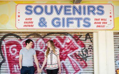 Fun Brighton engagement shoot – Judith & Steve