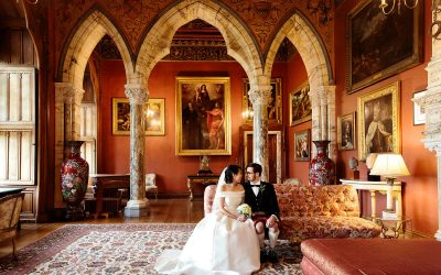Intimate wedding Scotland – Julie and Max at Mount Stuart
