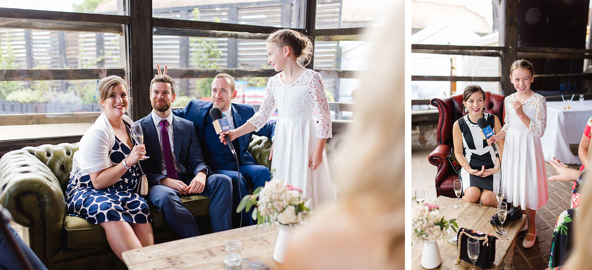 "Lillibrooke Manor wedding guests on ""wedding tv"""