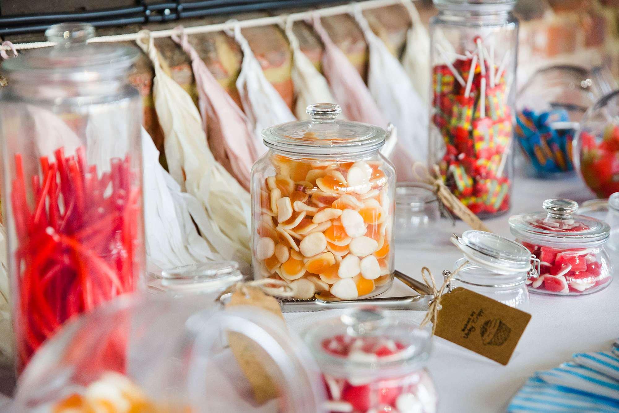 Lillibrooke Manor wedding sweetie table