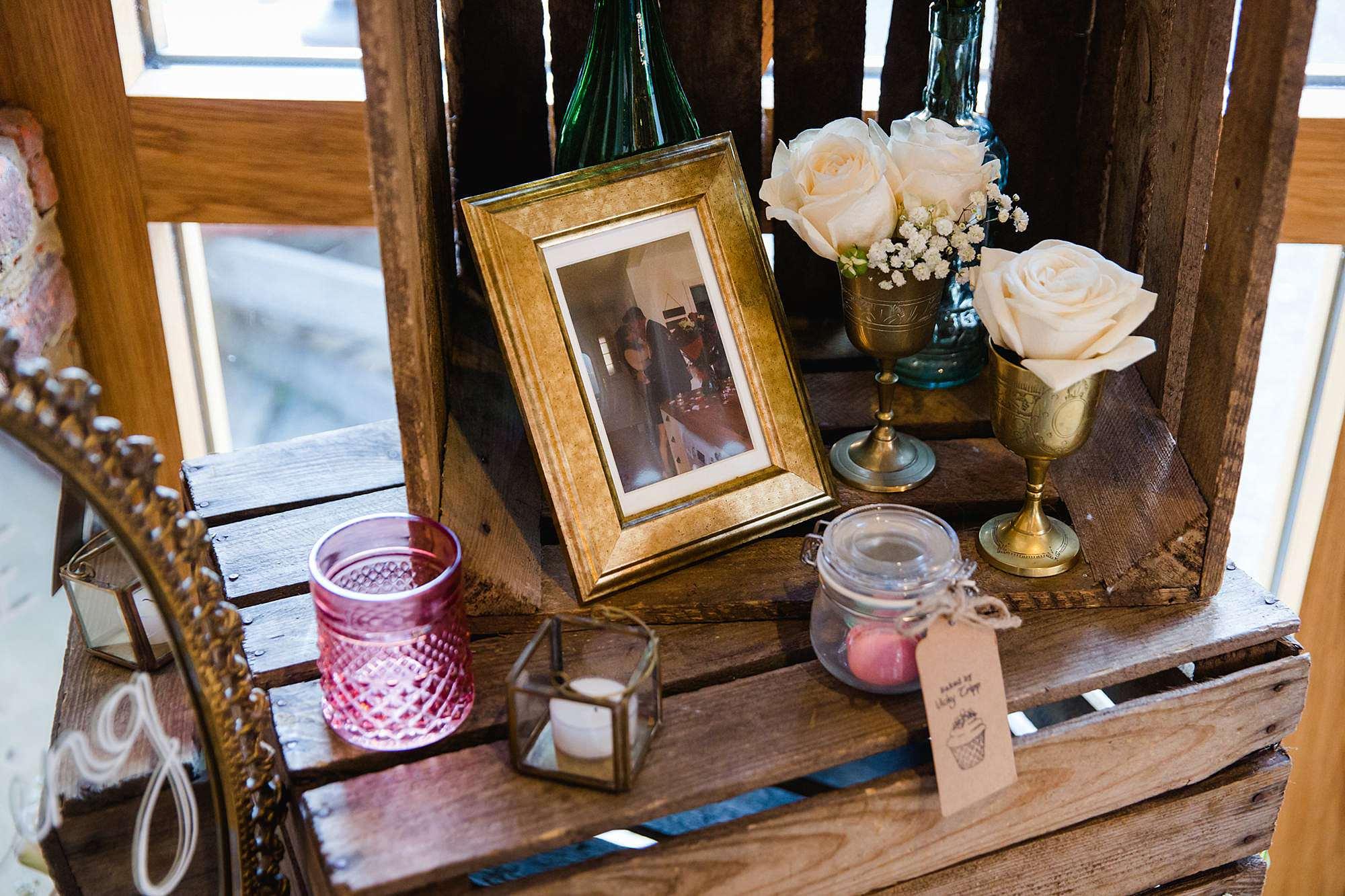 Lillibrooke Manor wedding rustic decorations