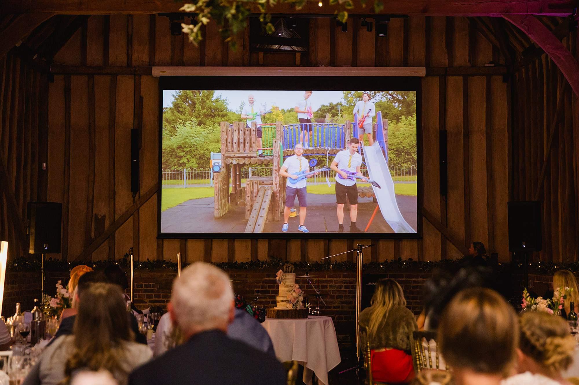 Lillibrooke Manor wedding best man's boyband themed speech
