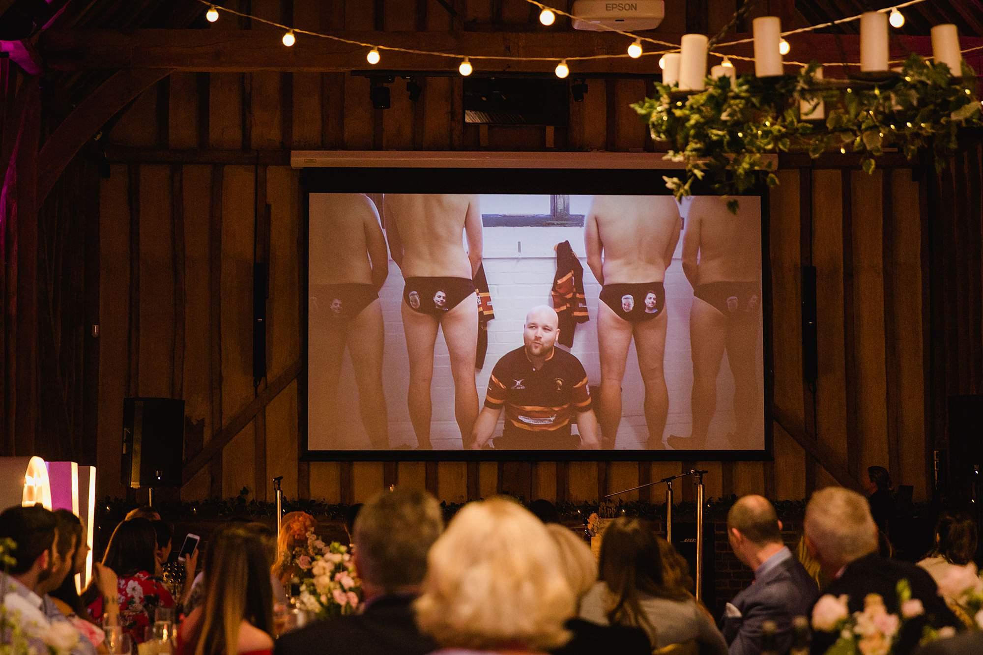 Lillibrooke Manor wedding funny best man video speech