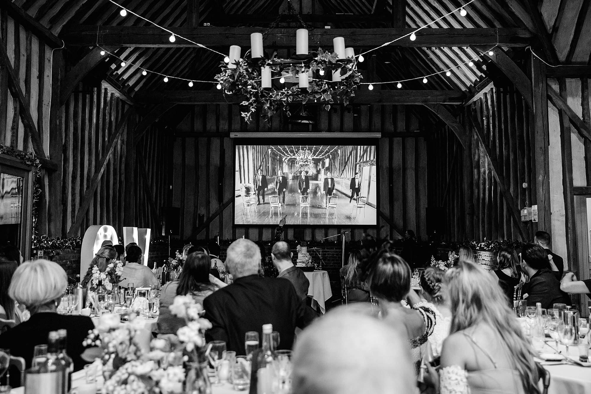 Lillibrooke Manor wedding boyband themed best man speech