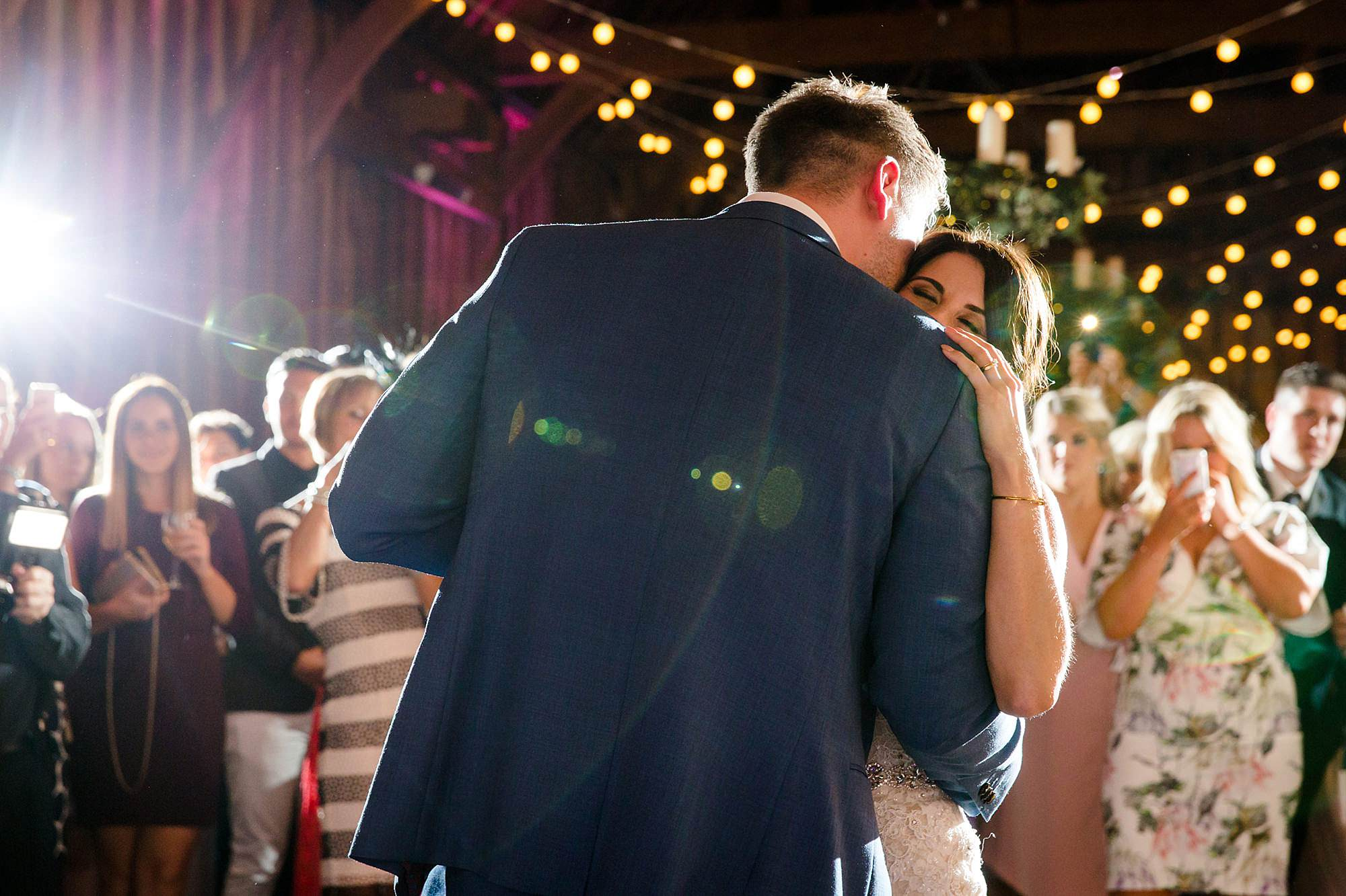Lillibrooke Manor wedding bride and groom first dance