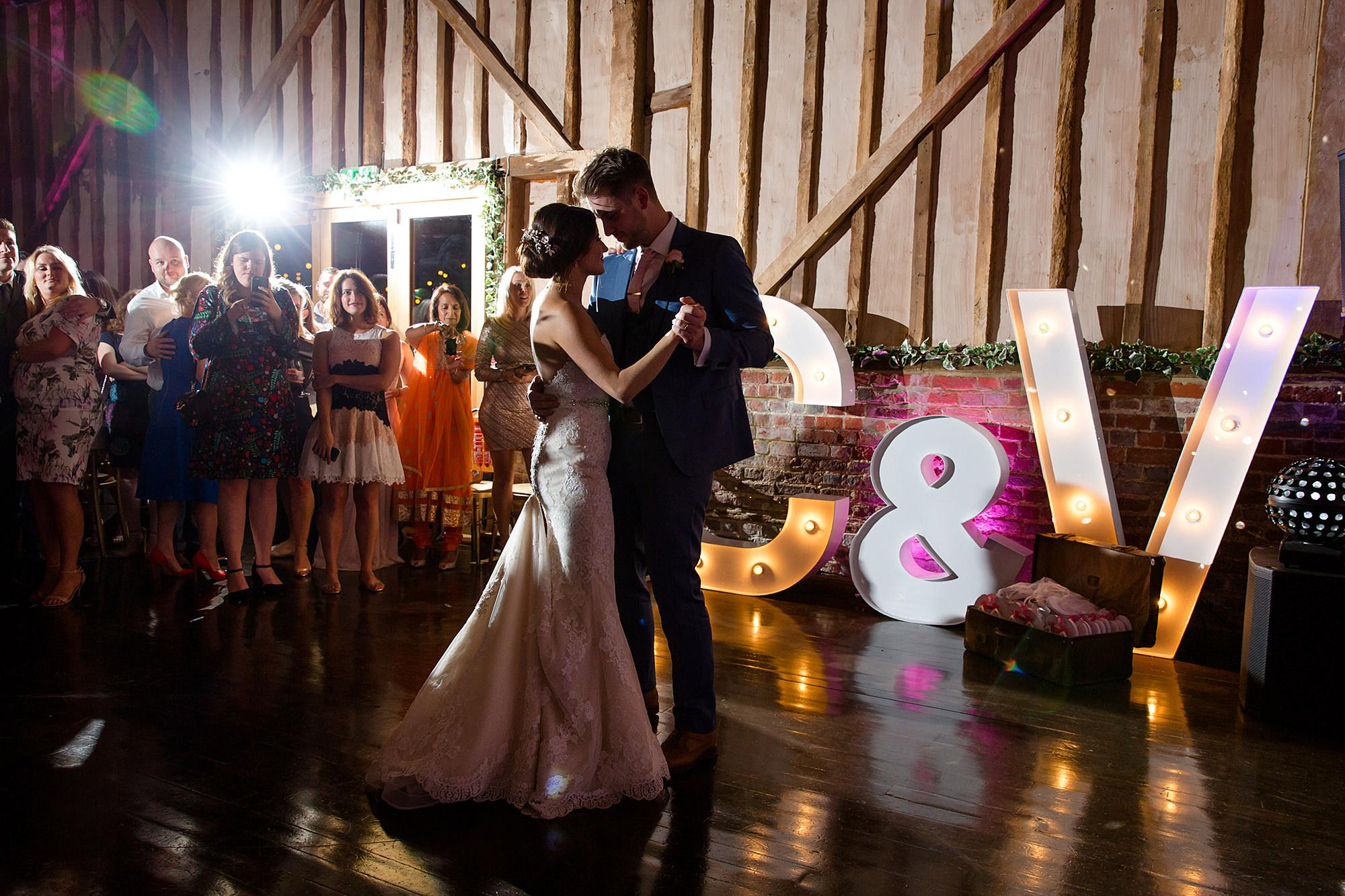 Lillibrooke Manor wedding first dance