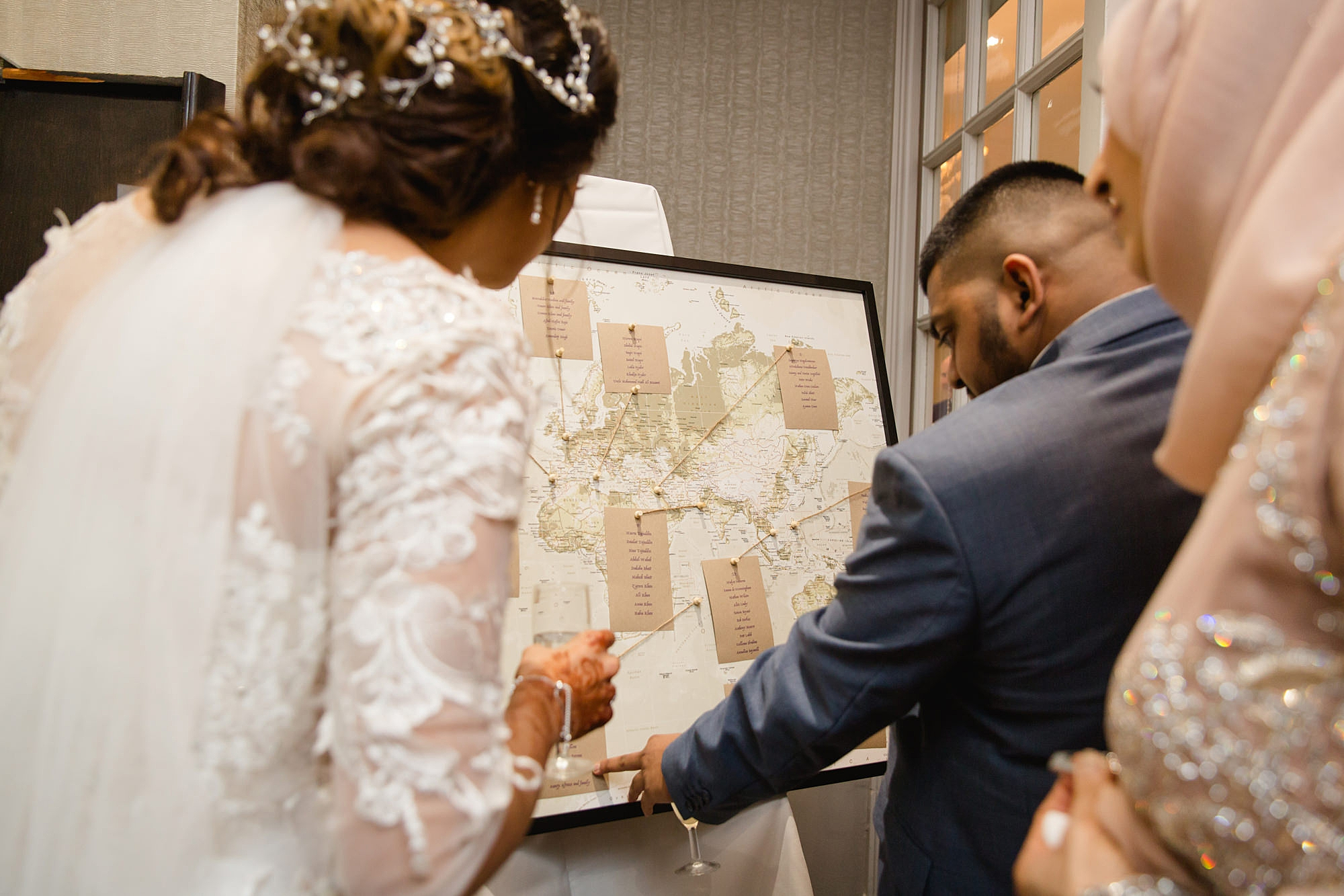 Richmond Hill Hotel wedding table plan