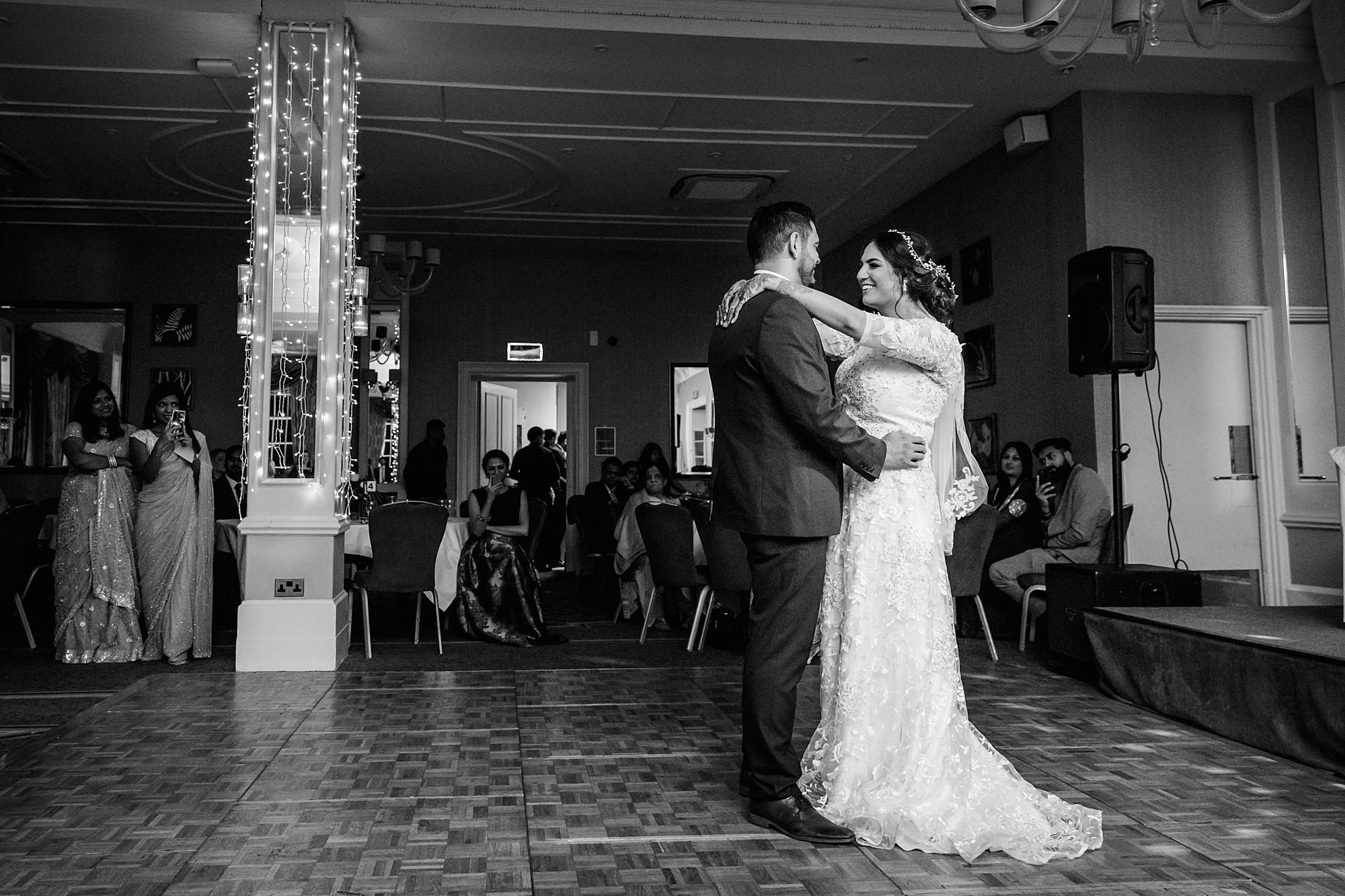 Richmond Hill Hotel wedding first dance