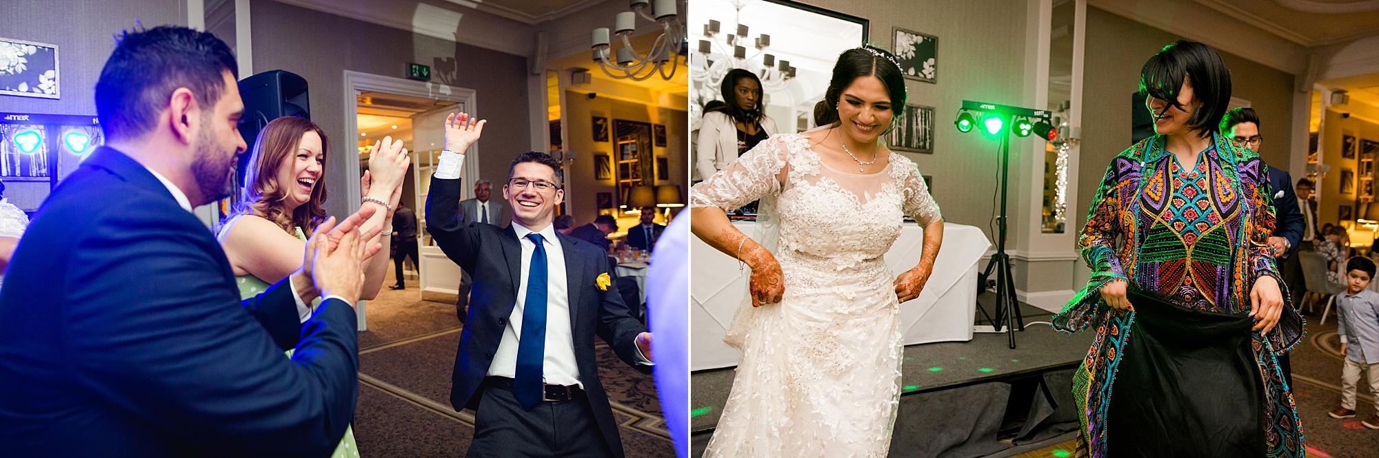 Richmond Hill Hotel wedding dancing