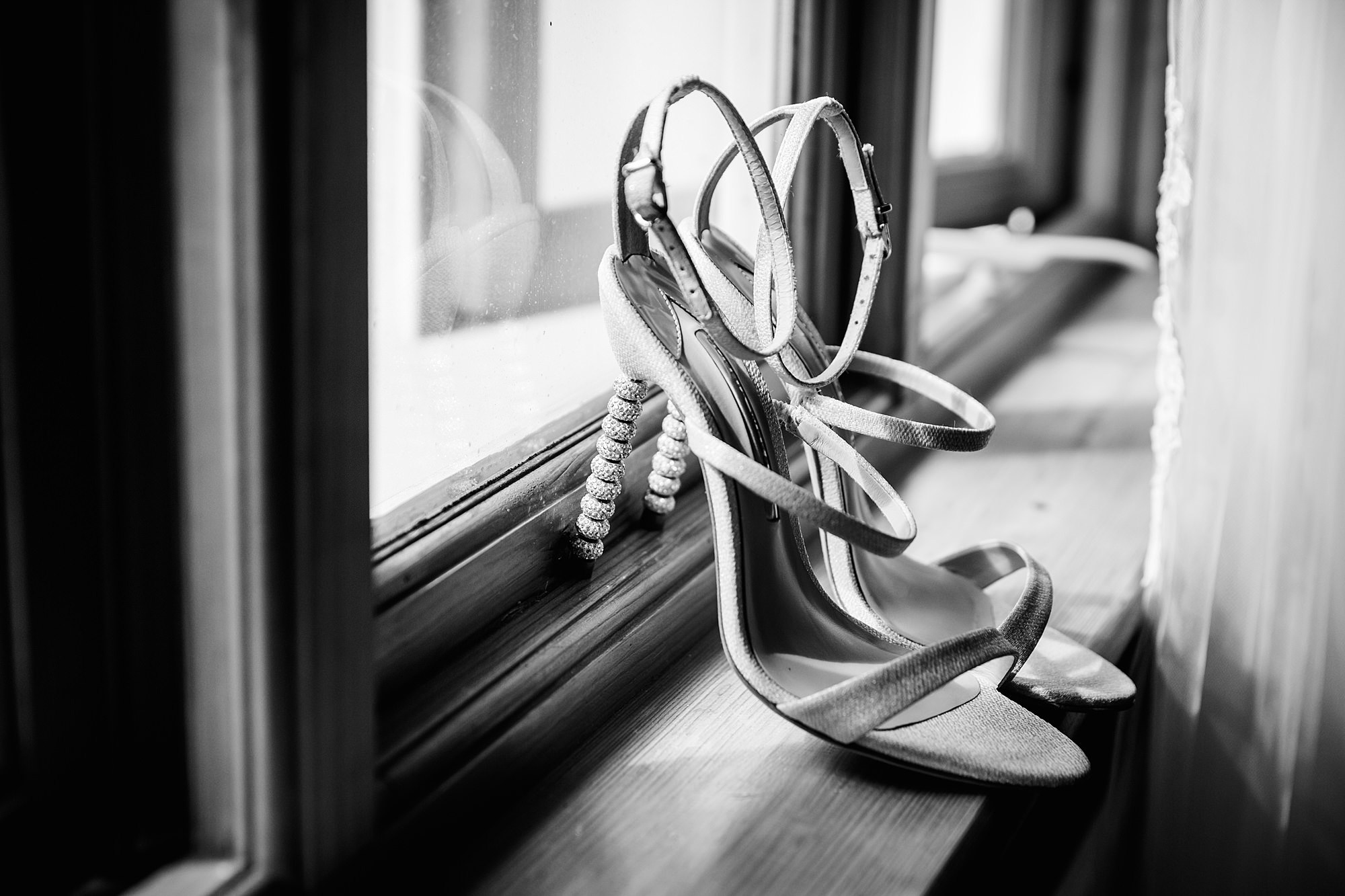 Writtle university college wedding bride's shoes