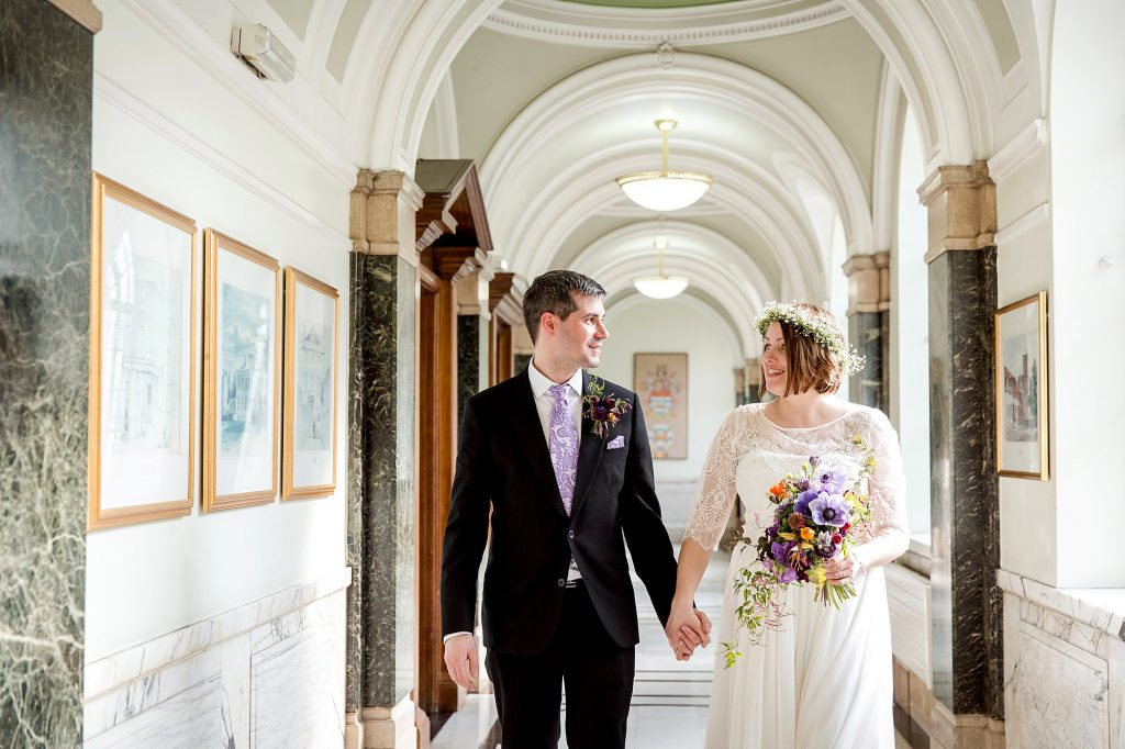 Fun London Wedding bowling – Rachel and Davide