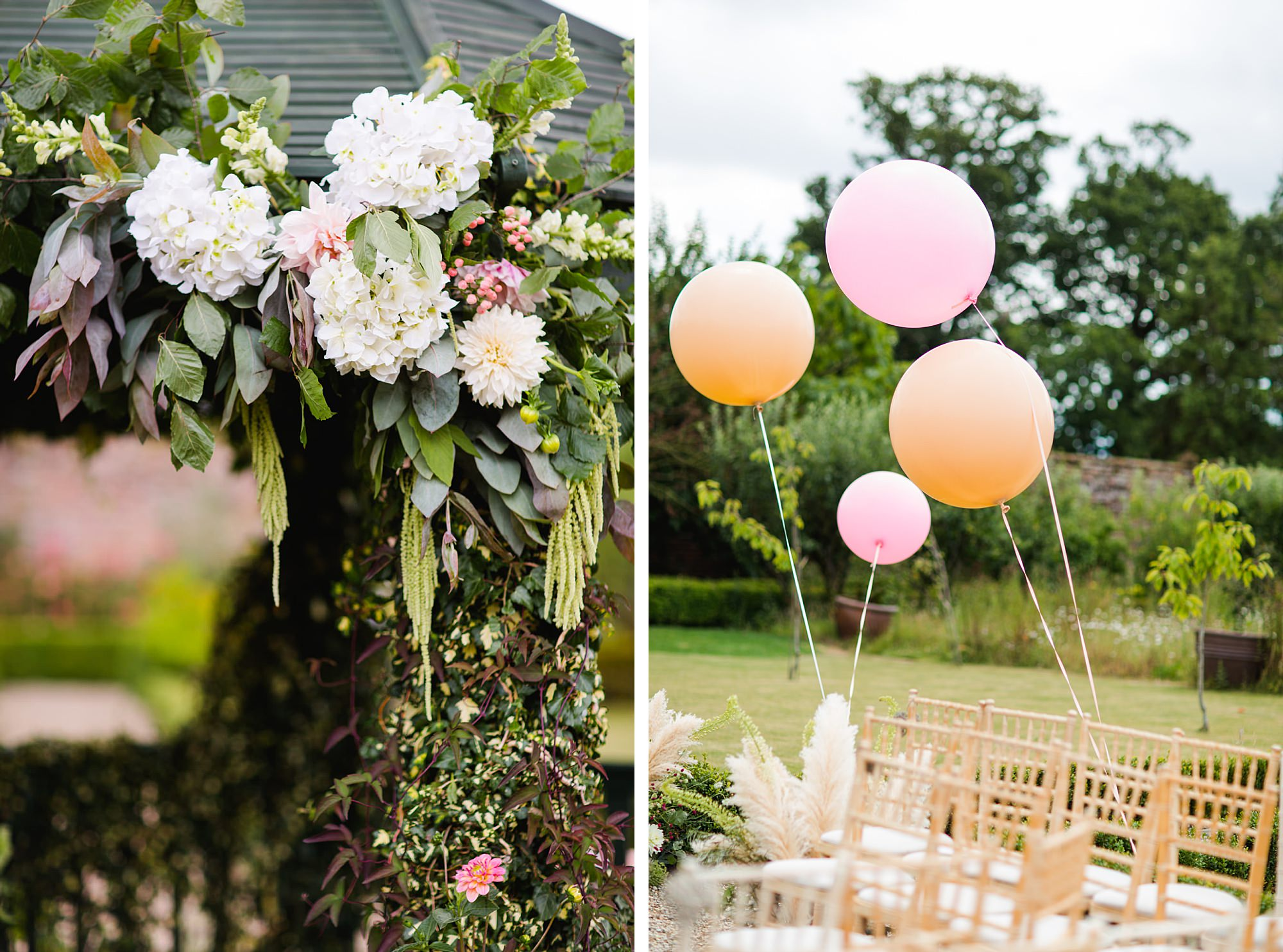fun outdoor wedding decorations