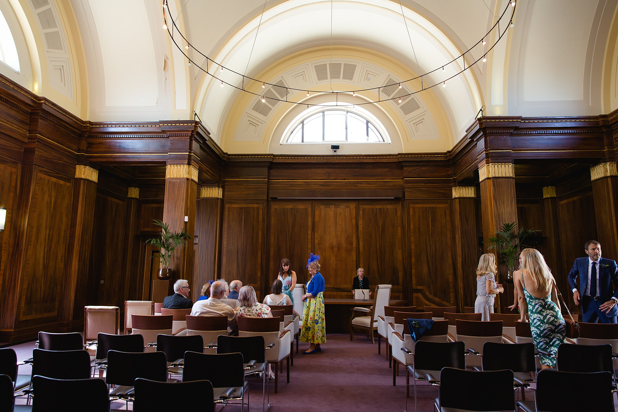 Clapton Country Club wedding photography stoke newington town hall chamner