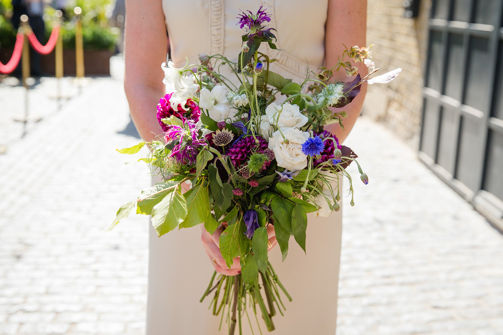 Clapton Country Club wedding photography bride's bouquet