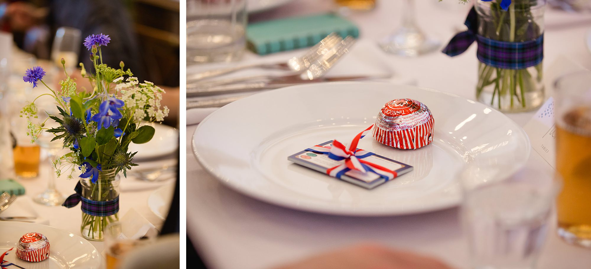 Clapton Country Club wedding photography tunnocks teacakes