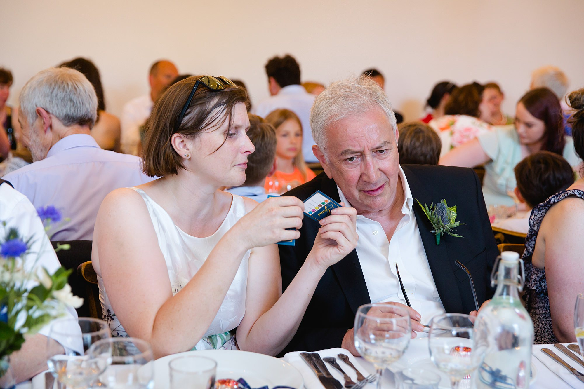 Clapton Country Club wedding photography guests play game
