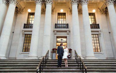 Old Marylebone Town Hall Wedding Photography – Sarah & Ian's winter wedding