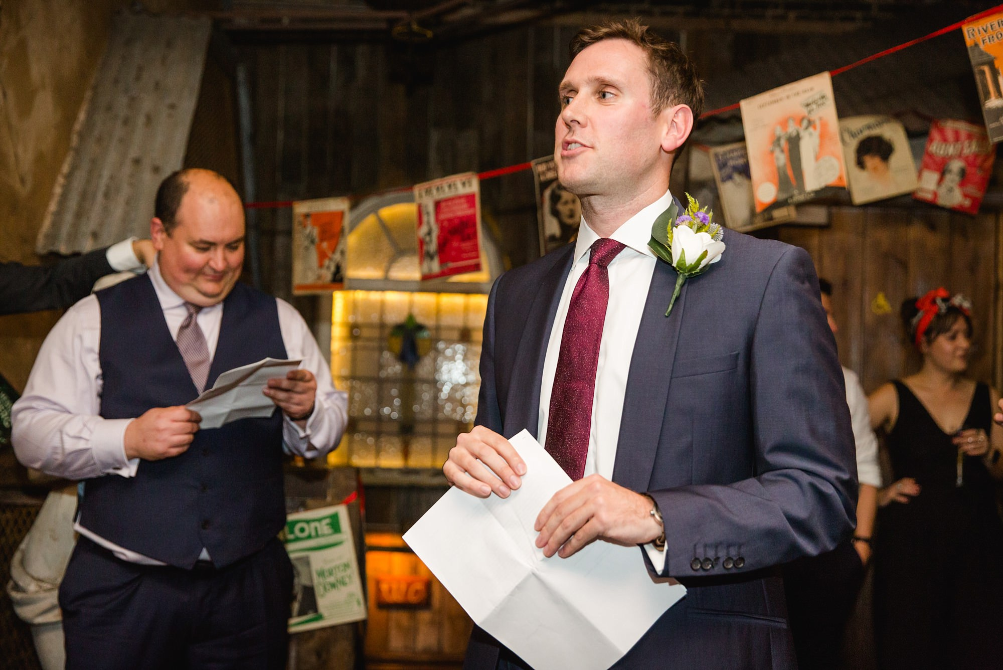 Old Marylebone Town Hall wedding photography best man speech