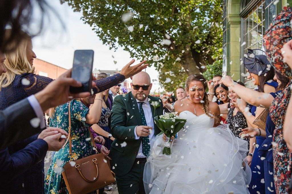 Prince Albert Camden wedding – Rachel & Kier's fun London pub wedding