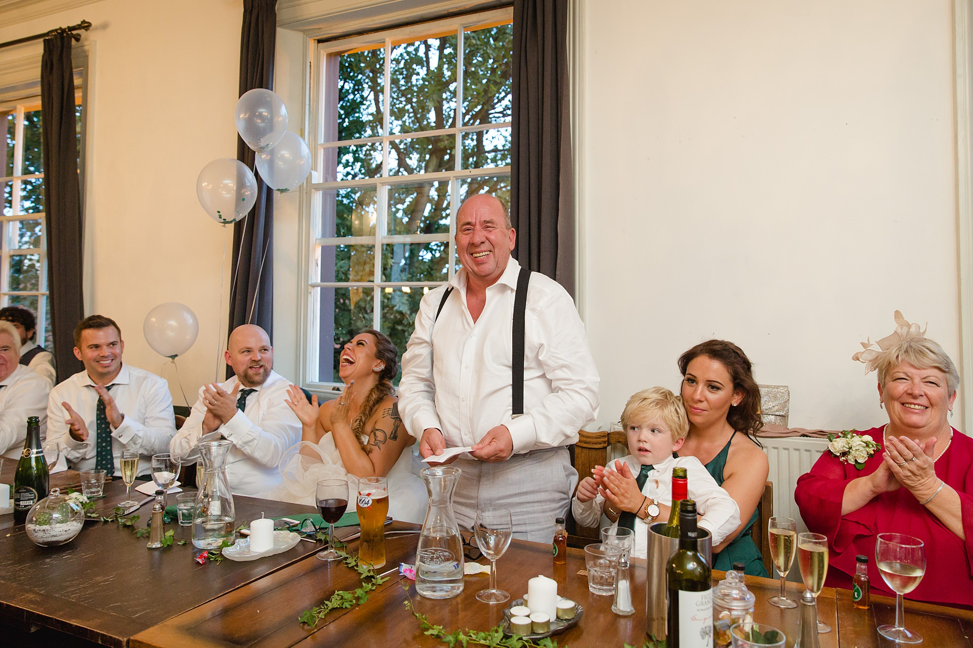 Prince albert camden wedding father of bride speech