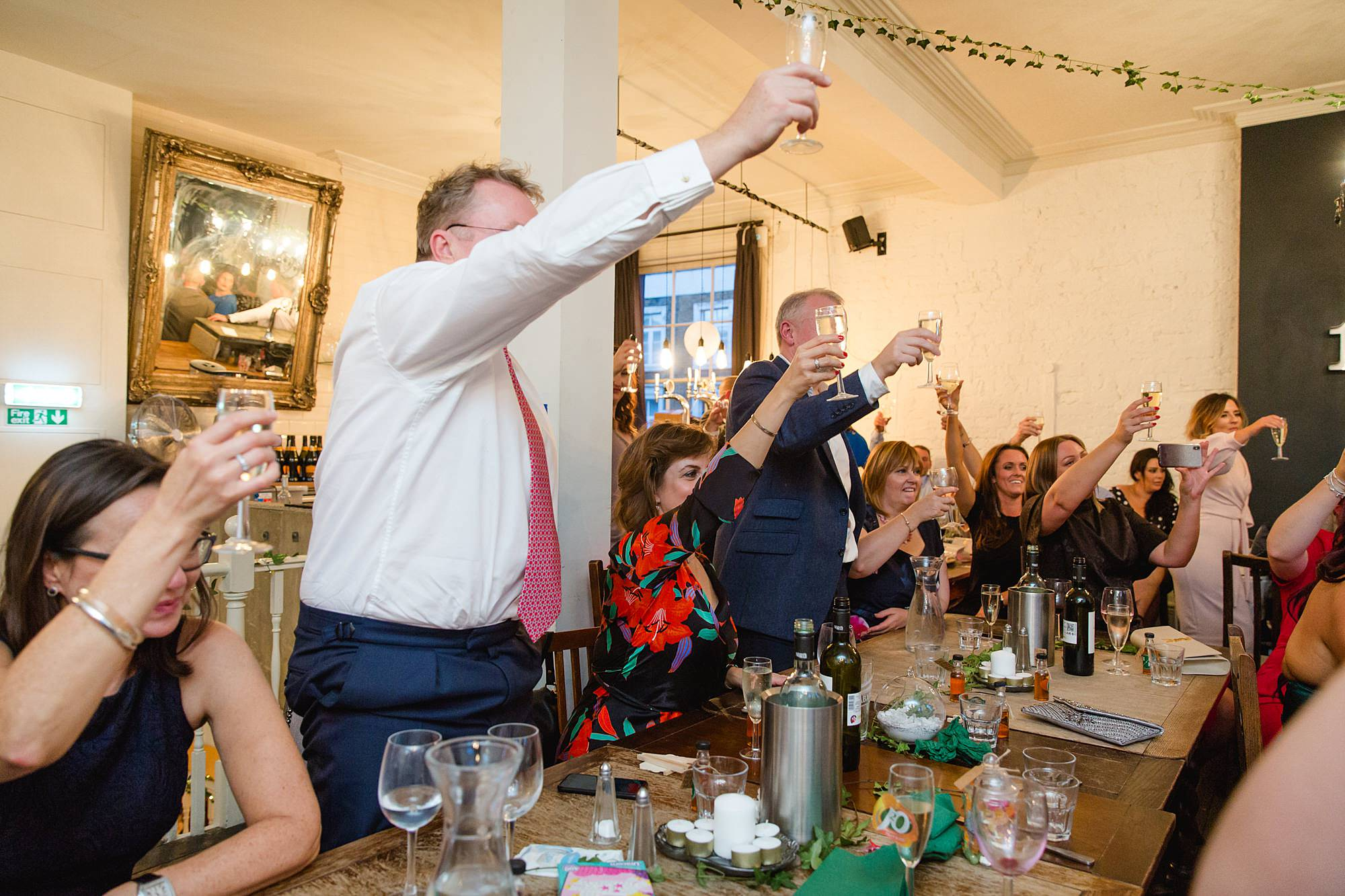 Prince albert camden wedding guest toast